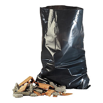 Sacchi spazzatura per macerie