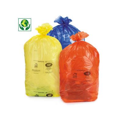 Sacchi spazzatura per raccolta differenziata