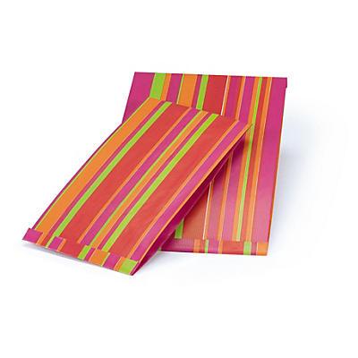 Sachet Cadeau##Gestreept zakje voor geschenken