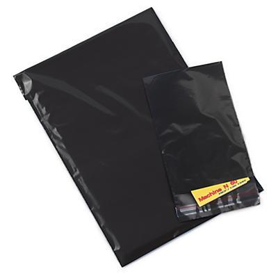 Sachet noir opaque à fermeture adhésive