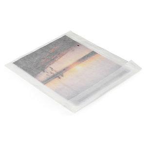 Sachet papier cristal à fermeture adhésive