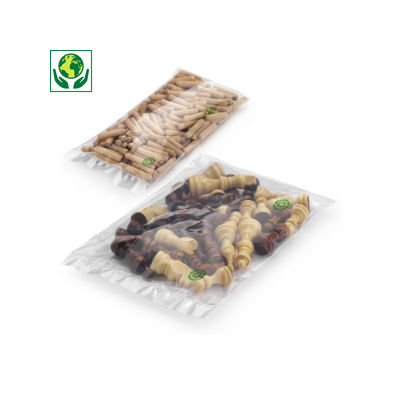 Sachet plastique 100% recyclé 50 microns RAJA