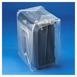 Sachet plastique 100% recyclé à soufflets transparent 150 microns RAJA