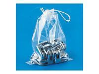 Sachet plastique à cordelettes 50 microns