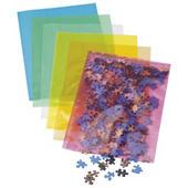 Sachet plastique couleur translucide