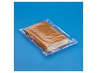 Sachet plastique haute brillance à fermeture adhésive inviolable