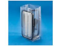 Sachet plastique à soufflets 150 microns