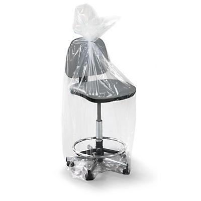 Sachet plastique à soufflets transparent 100 microns RAJABAG