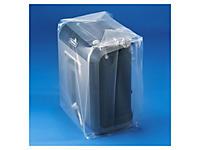 Sachet plastique à soufflets transparent 150 microns Rajabag