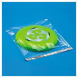 Sachet plastique transparent haute brillance à fermeture adhésive