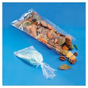 Sachet plastique transparent plat