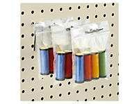Sachet plastique à trou de suspension européen RAJAGRIP Éco, 50 microns##Gripzakje Rajagrip Eco met ophanggleuf volgens Europese norm, 50 micron