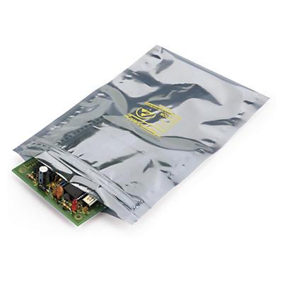 Sachet plastique zip blindé