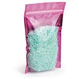 Sachet plastique zip couleur métallisé à soudures étanches _ destockage