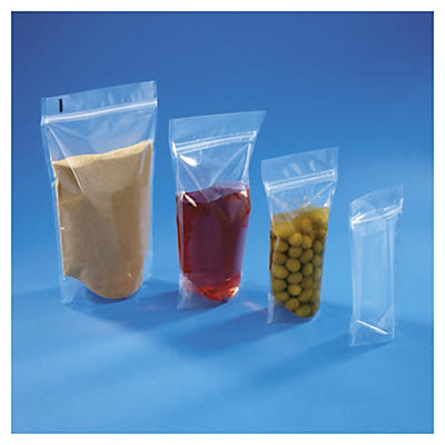 Sachet plastique zip à soudures étanches