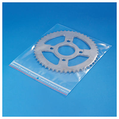 Sachet plastique zip transparent 100 microns RAJA
