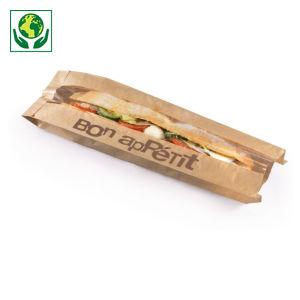 Sachet sandwich en kraft