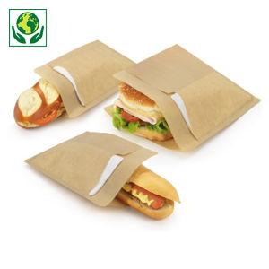 Sachet sandwich avec serviette