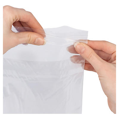 Sachet zip double poche