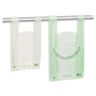 Saco biodegradável personalizadol