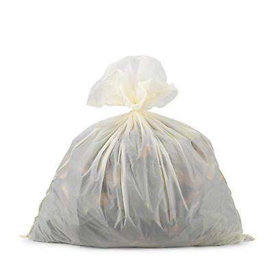 Saco do lixo compostável