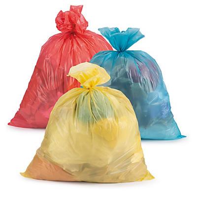 Saco do lixo de cor