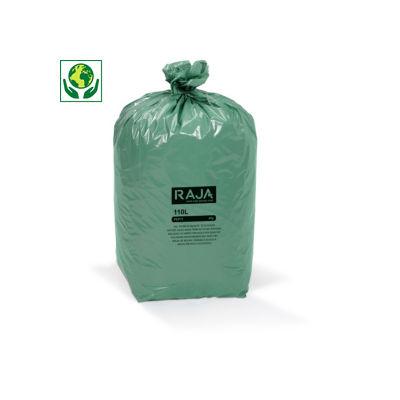 Saco do lixo de plástico reciclado RAJA