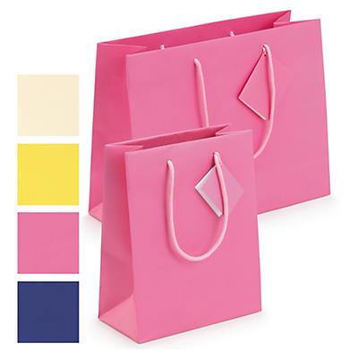 Saco de papel plastificado mate Luxury Line