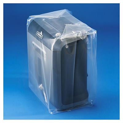 Saco de plástico com fole 150 mícrones RAJA