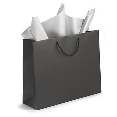 Sacs pelliculés mat par 200 sacs##Lackpapiertragetaschen matt ab 200 Stück