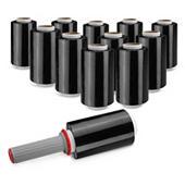 Sada 20 rolí černé napínací mini fólie 100 mm RAJASTRETCH Eco