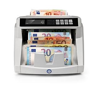 Safescan 2465-S, Contador automático de dinero, gris