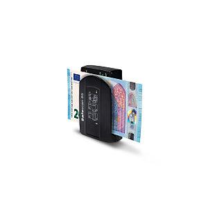 Safescan 85 Detector de billetes falsos de bolsillo, negro