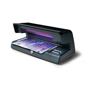 Safescan Détecteur de faux billets UV 70; conception plate, lampe UV9W, zone de lumière blanche à LED; arrêt automatique; couleur noire
