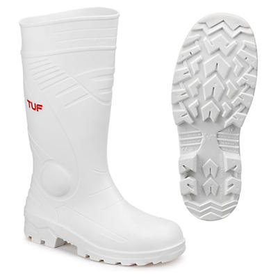 Safety S4 Wellington boot - white