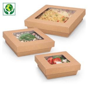Saladier carton carré