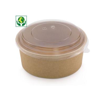 Saladier carton rond