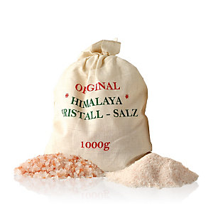 Sale rosa dell'Himalaya, Grosso 1 kg