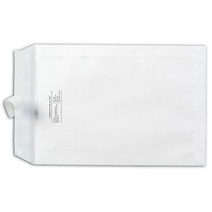 SAM AUTOSAM, Sobre de catálogo, C4 internacional, 324 x 229 mm, autoadhesivo, papel offset, blanco