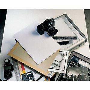 SAM Cartosam Bolsas con dorso de cartón 260 x 360 mm blanco