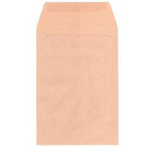 SAM ENGOMADA, sobre para salarios, 170 x 120 x 170mm, autoadhesivo, papel kraft, marrón