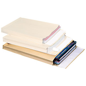 SAM Sobre de catálogo, 30 x 280 x 365mm, autoadhesivo, papel kraft, marrón
