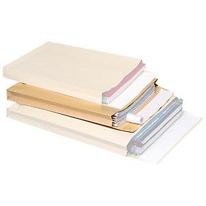 SAM Sobre de catálogo, B4, 353 x 250 x 30mm, autoadhesivo, papel kraft, marrón