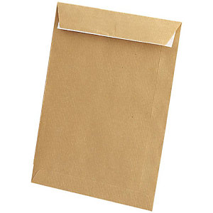 SAM Sobre empresarial, C5, 162 x 229 mm, autoadhesivo, papel kraft, marrón