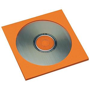 SAM Sobres para CDs de papel naranja