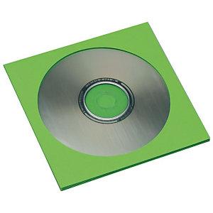 SAM Sobres para CDs de papel verde