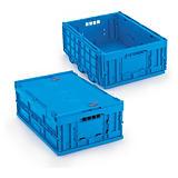 Sammenleggbare kasser med eller uten lokk
