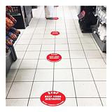 Samolepiace podlahové značenie