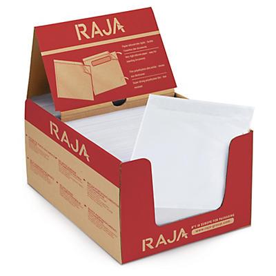 Samolepicí obal na doprovodnou dokumentaci RAJALIST, bez potisku