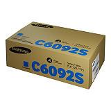 Samsung CLT-C6092S, SU082A, Tóner Original, Cian, Alta Capacidad, Paquete Unitario